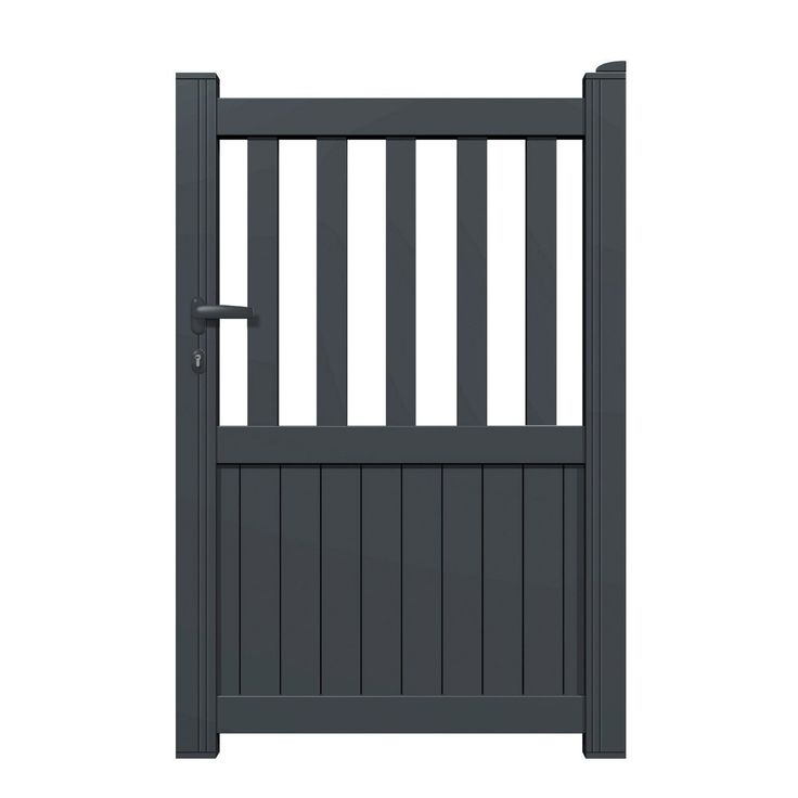 17 best ideas about portillon on pinterest cottage porte for Portillon pvc gris anthracite