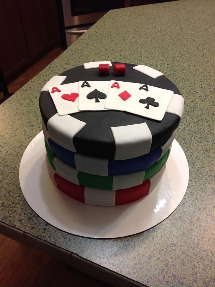 Poker Cakes / Las Vegas / Casino / Gambling -