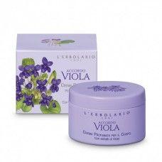 Accordo Viola illatú testápoló krém ibolya illatú - Rendeld meg online! Parfüm és kozmetikum család az olasz Lerbolario naturkozmetikumoktól