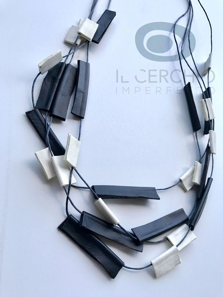 leather necklace #leather #necklace #pelle