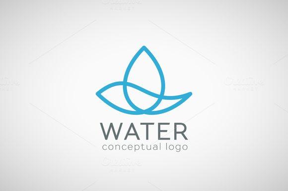 Water logo ~ Logo Templates on Creative Market