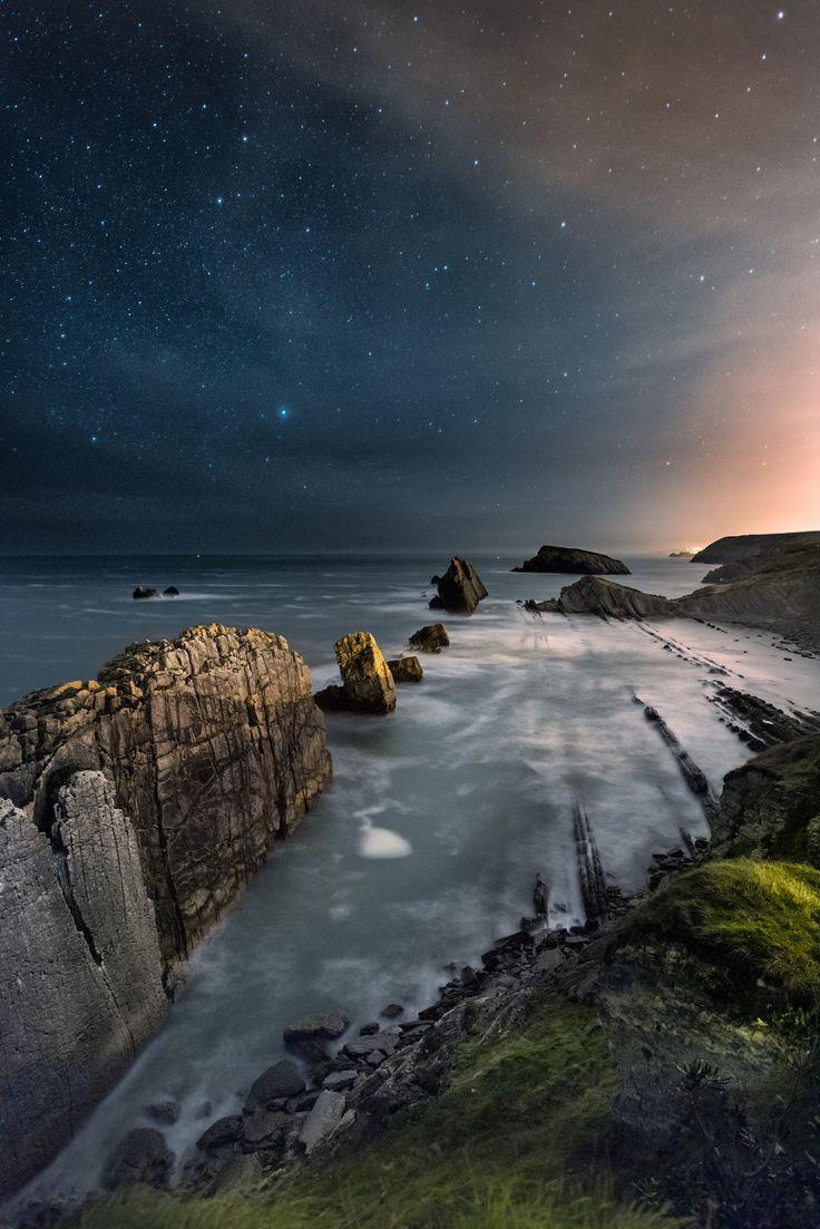 Arnía - Playa de la Arnía #Cantabria #Spain