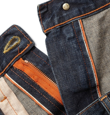 Jean Shop Rocker Straight-Leg Selvedge Denim Jeans