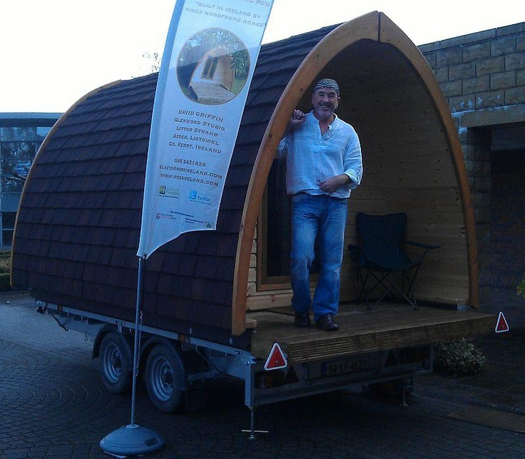 A camping pod from Pods Ireland displayed at the Camping Ireland AGM in Limerick