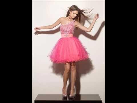 Vestidos Cortos Para Quinceañera 2014