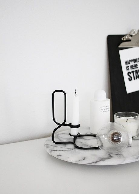 lup candle holder by hay // via amerrymishap