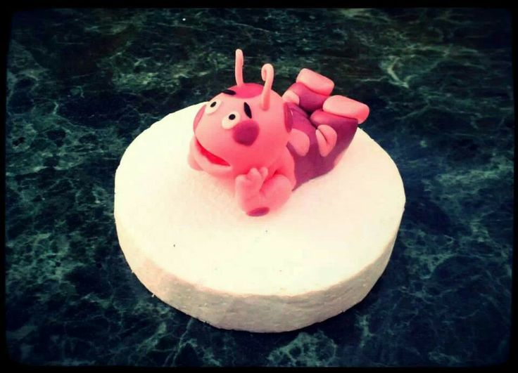 Uniqua Backyardigans Fondant