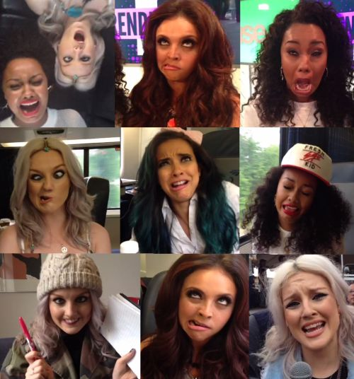 little mix funny moments oh my lovely and cute dribbles!!LOVE THEM