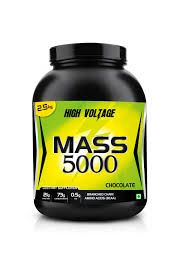 This is a powerful mass gainer that contains good amount of protein, carbohydrate, L-Glutamine and creatine monohydrate. These nutrients helps to improve mass building, performance and  also helps to prevent tissue repair as well as muscle wastage. Visit http://www.bodymart.in/products/supplements/high-voltage-mass-5000.html