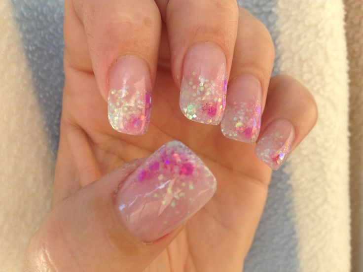 Pinky bling acrylics
