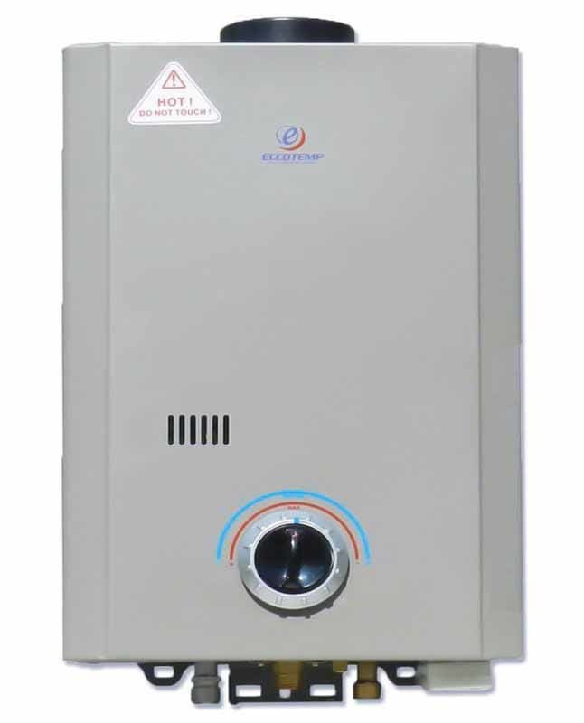 Eccotemp L7 P 1.7 Gallon Point Of Use Liquid Propane Tankless Water Heater