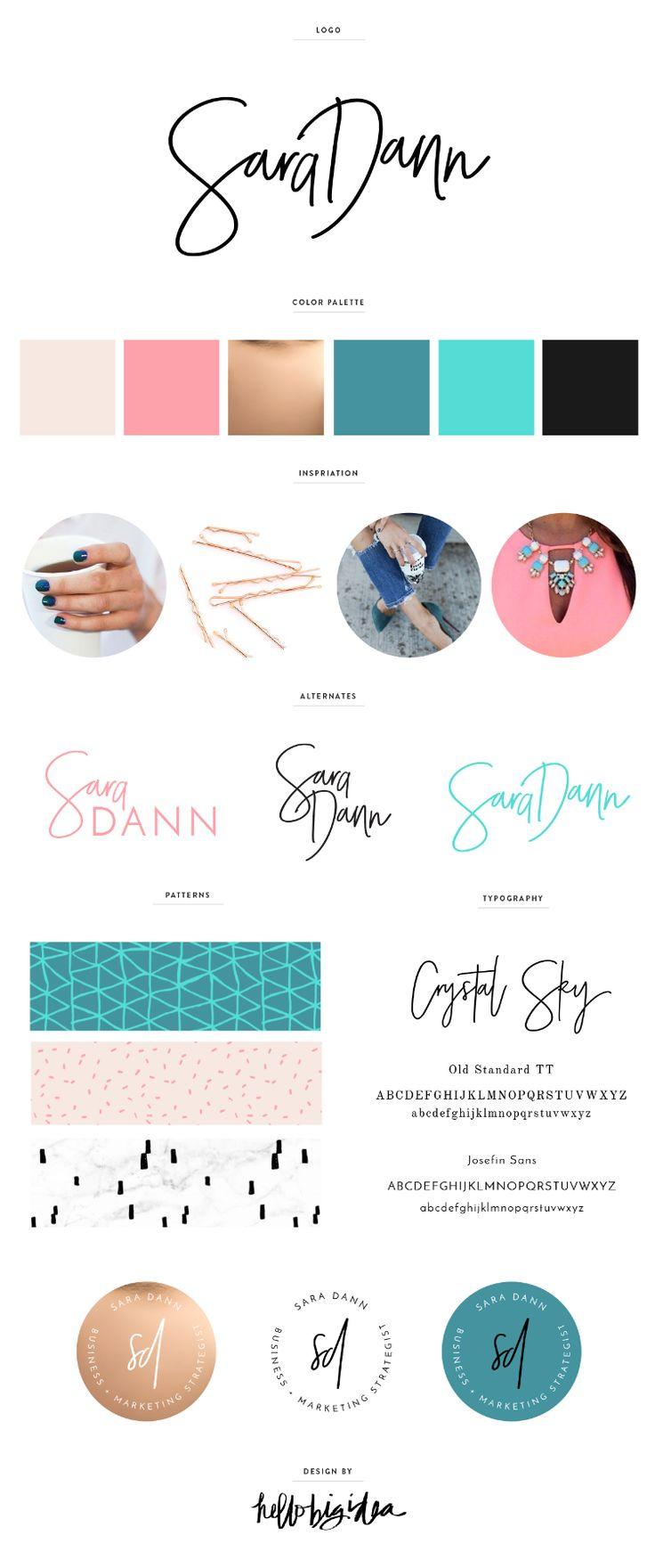 Sara Dann // Life Coach // Style Guide by Hello Big Idea