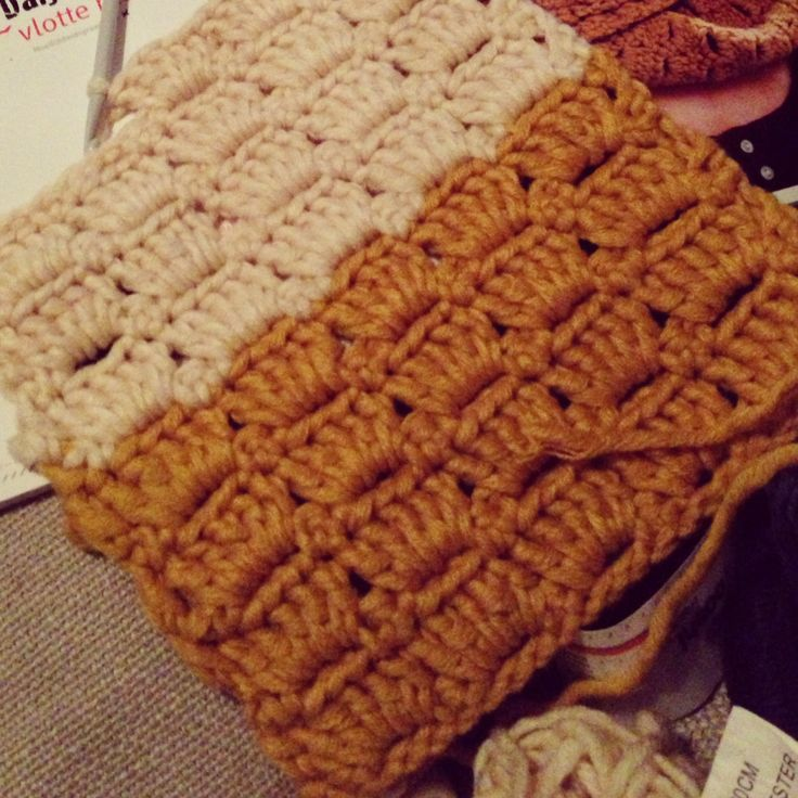 Sjaal, patroon uit my boshi boek
