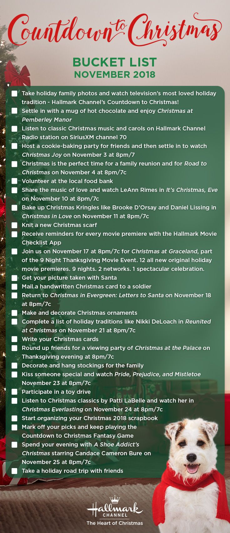 Mark Off Your Countdown To Christmas Bucket List Activities With This Festive List Gather A Group O Christmas Bucket Christmas Bucket List Christmas Countdown