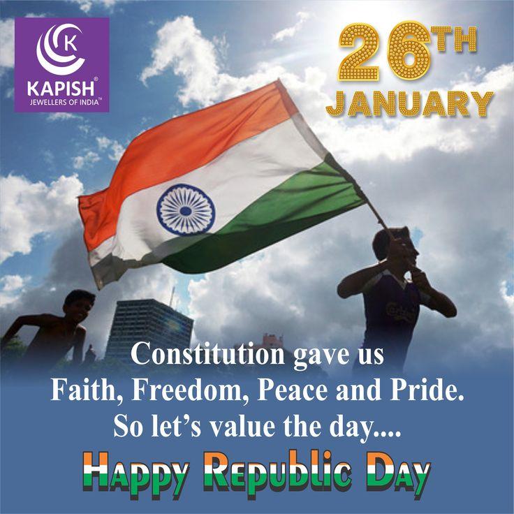 Happy Republic Day  #RepublicDay #HappyRepublicDay #26thjanuary #69thRepublicDay #India #ILoveMyIndia #JaiHind #RepublicDay2018 #KapishJewels