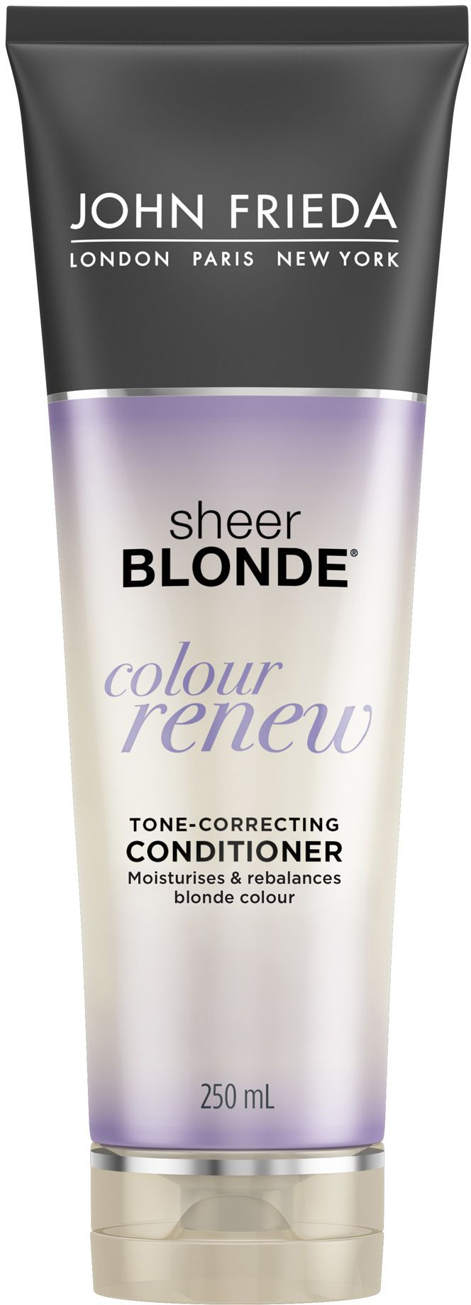 John Frieda Sheer Blonde Colour Renew Tone Correcting Conditioner Is A Conditioner That Renews Colour By Reversing The Look John Frieda Purple Shampoo Shampoo