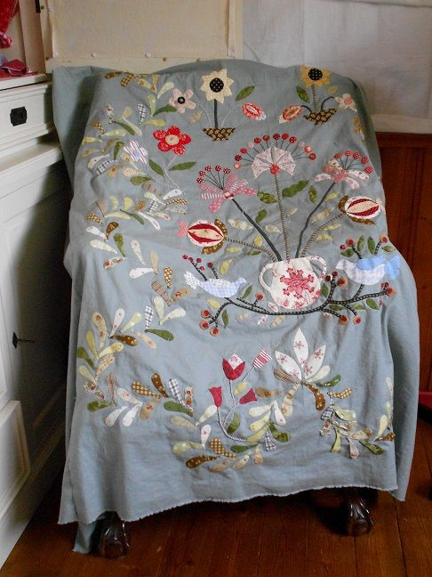 """Supergoof Quilts: """"Tuinpraatje"""" Love this one!"""