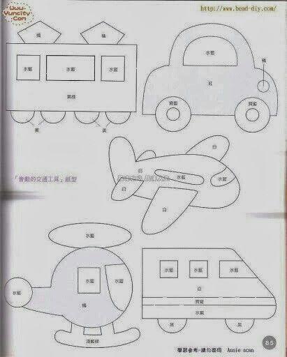 patrones de vehiculos