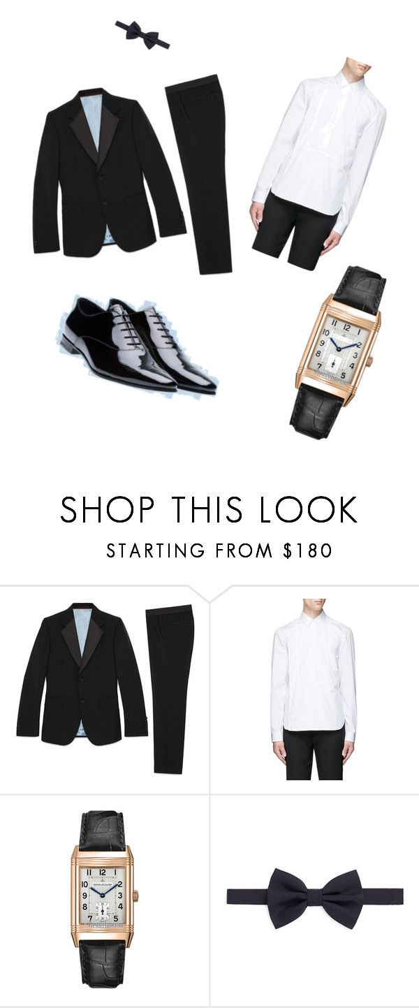 serata elegante by francescox on Polyvore featuring Maison Margiela, Gucci, Jaeger-LeCoultre, Armani Collezioni, Prada, men's fashion and menswear