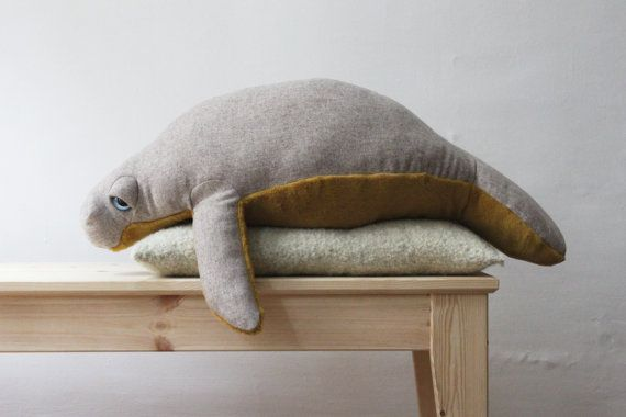 Manatee O Sea Cow O Peluche O Doudou by BigStuffed on Etsy BigStuffed https://www.etsy.com/shop/BigStuffed