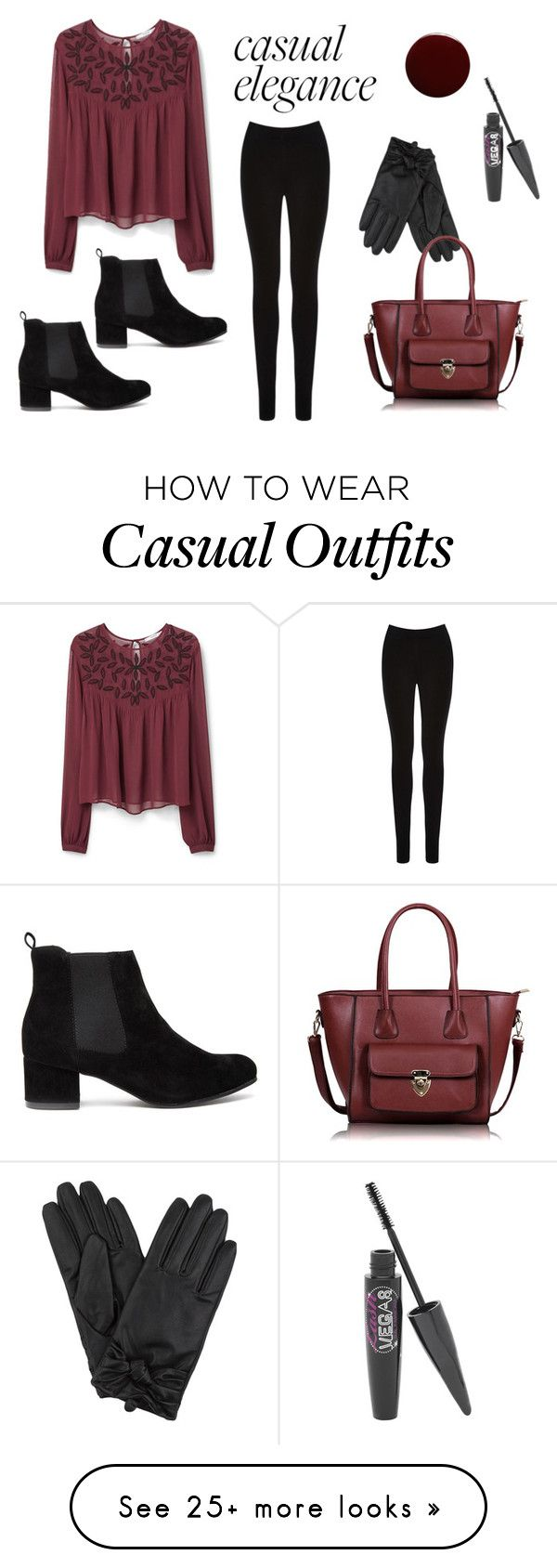 """Casual Elegance."" by juliexxx99 on Polyvore featuring Oasis, Barry M, MANGO, Lauren B. Beauty, women's clothing, women, female, woman, misses and juniors"