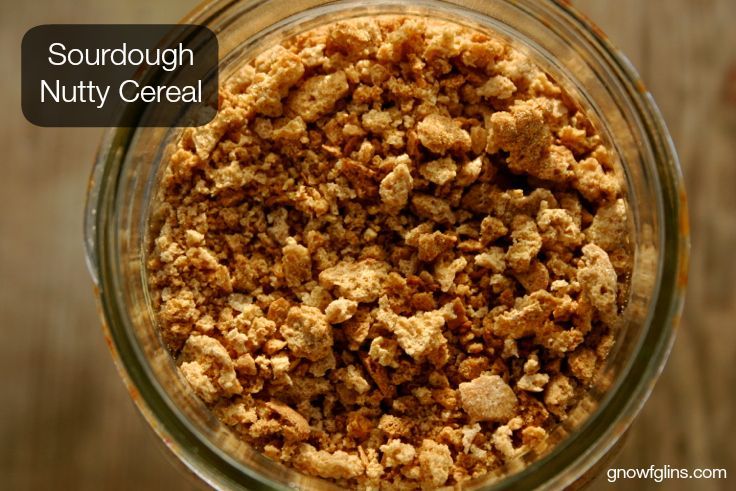 Sourdough Nutty Cereal | Who has given up a favorite cereal for the sake of trying to live an unprocessed life? If you've ever been a Grape ...