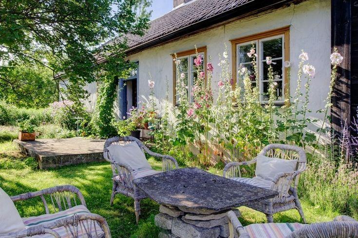 Hus på landet med bohemisk charm