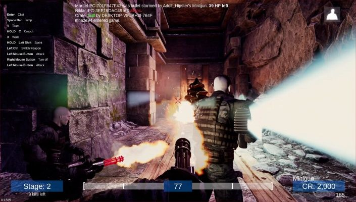 Murnatan is a Free 2 play Action FPS Multiplayer Shooter Game where two opposing teams humans and aliens tries to destroy the others base