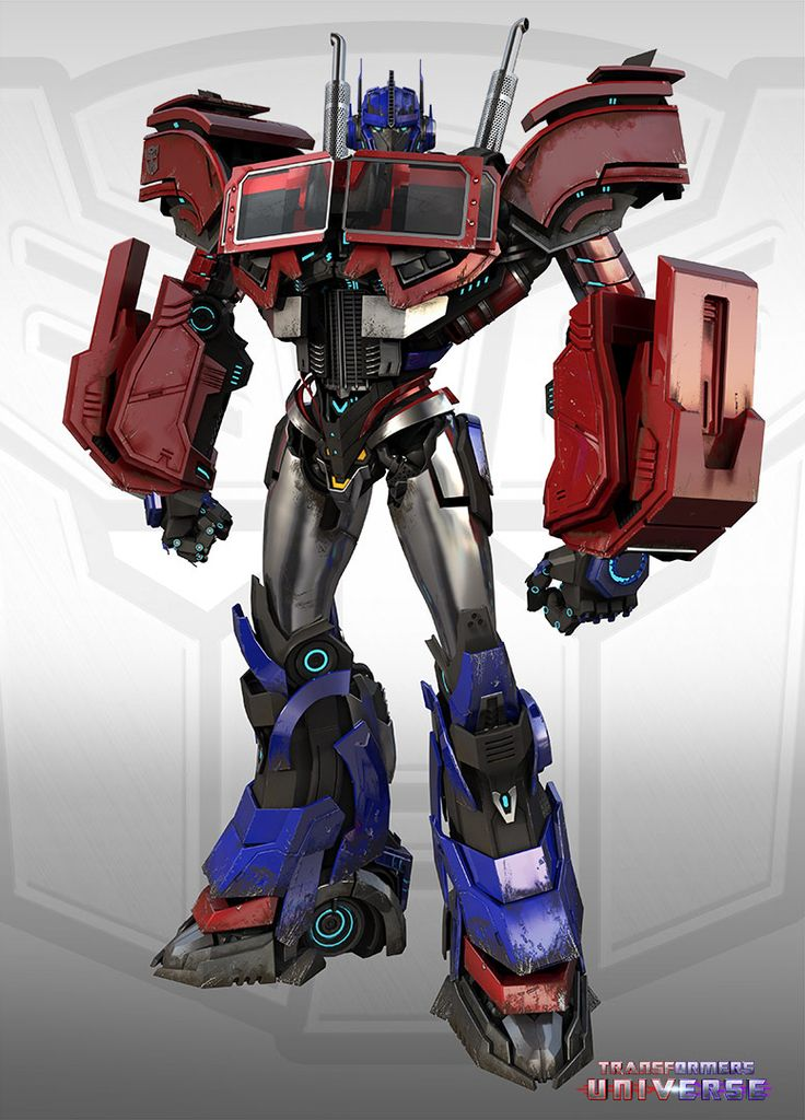 2damv6t Transformers Universe Bumblebee, Optimus Prime and Megatron Art