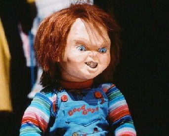 Child's Play (1988).Chucky (voice by Brad Dourif)