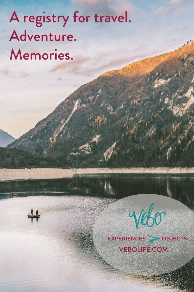 VEBO is an experience based wedding registry Collect