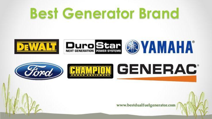 best generator brand