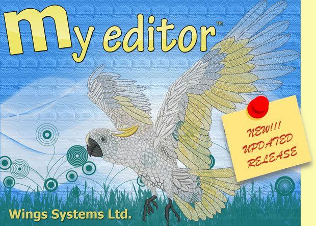 my editor™ is a Free, simple viewing and editing software with some innovative features and functions. It was mainly developed to provide the capability to view and modify supported embroidery files and then re-save them in any of the available embroidery file formats. It will help you view your designs with actual thread colors, make changes and add information in them. It also includes extra browsing and saving capabilities, as well as tools for better production and material management