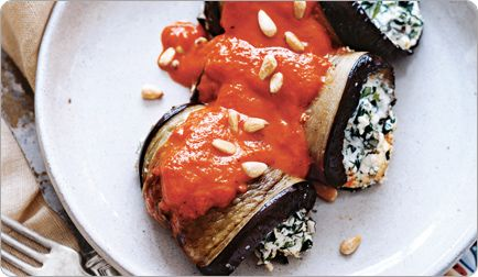 Eggplant Rolls. yum: Healthy Cooking, Eggplants, Eating Healthy Recipes, Healthy Eggplant, Food, Easy Eggplant Recipes, Eggplant Parmesan Recipes, Favorite Recipes
