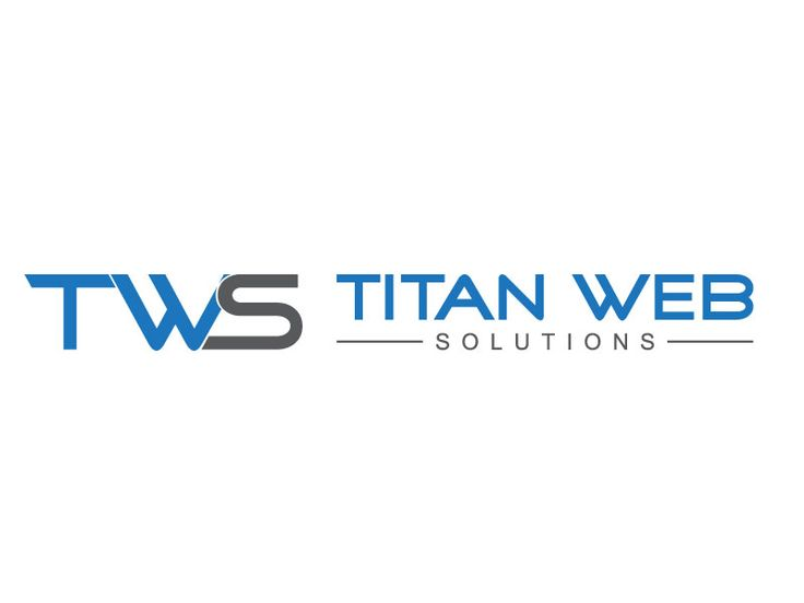 A Logo for Titan Web Solutions Bold, Serious Logo Design by D.C. SOLUTION.