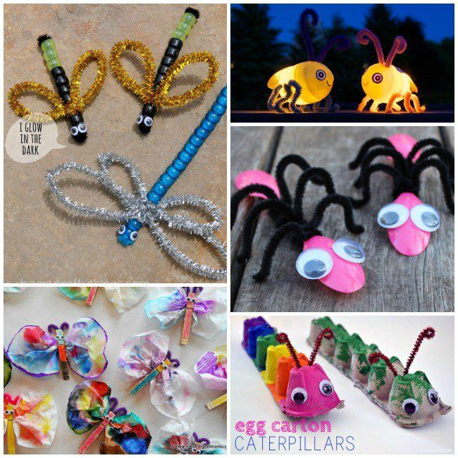 20 Adorable Bug Crafts, Activities and Food Ideas - Kids ...