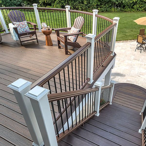 Best Railing Image Gallery Trex Transcend In 2020 House 640 x 480