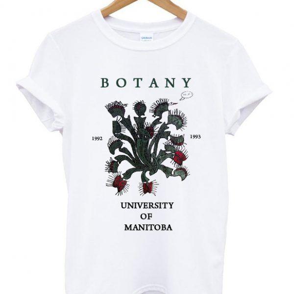 Botany University Of Manitoba T Shirt