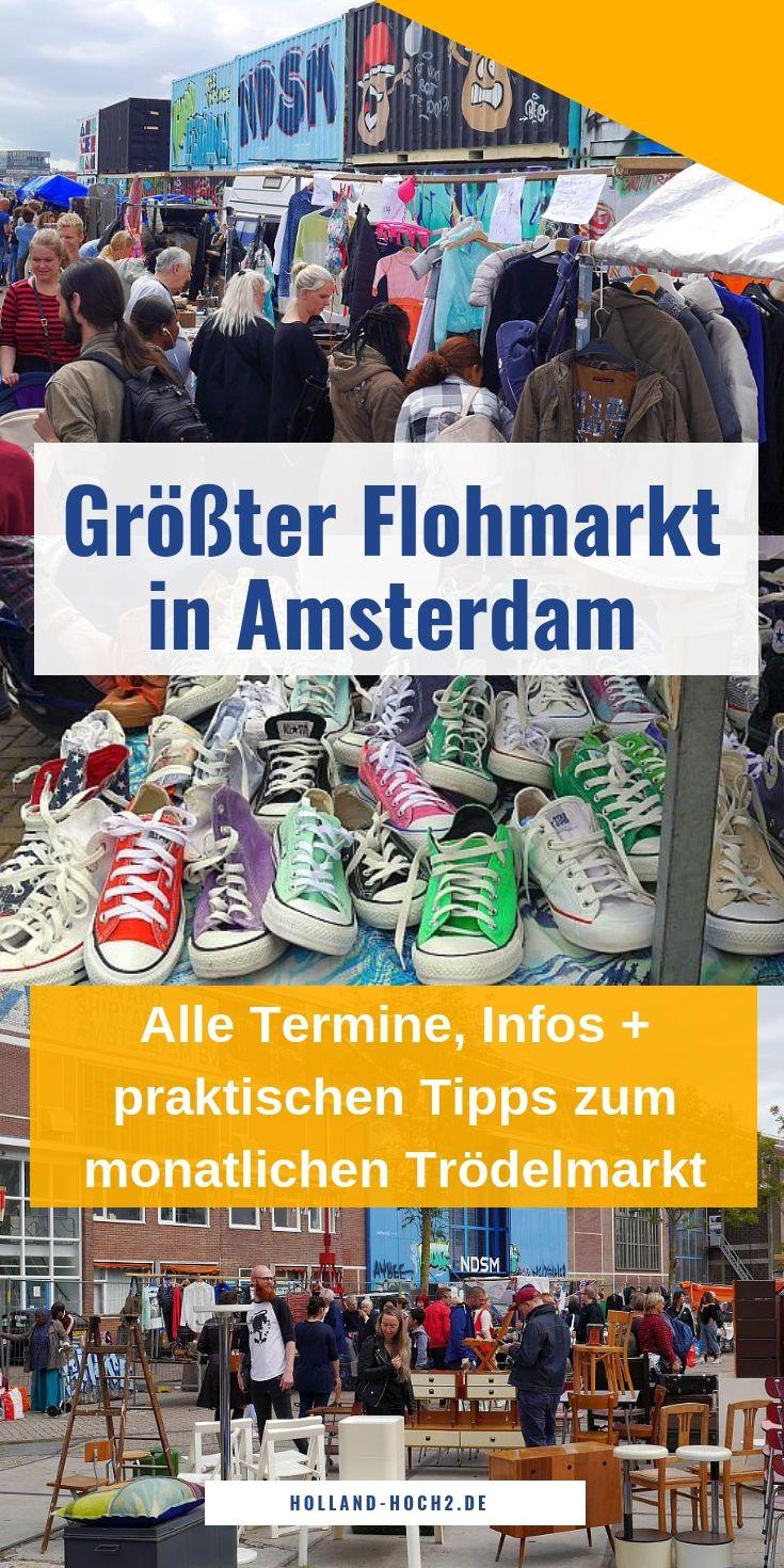 IJ Hallen Amsterdam Flohmarkt: alle Termine, Infos & Fotos