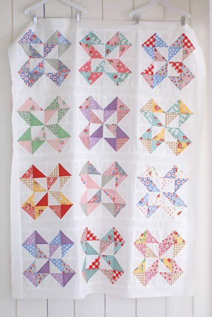 MessyJesse - a quilt blog by Jessie Fincham: Dutch Pinwheel Top
