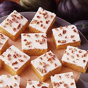 Winter Squash Squares - Made these with Hubbard Squash and they turned out great!