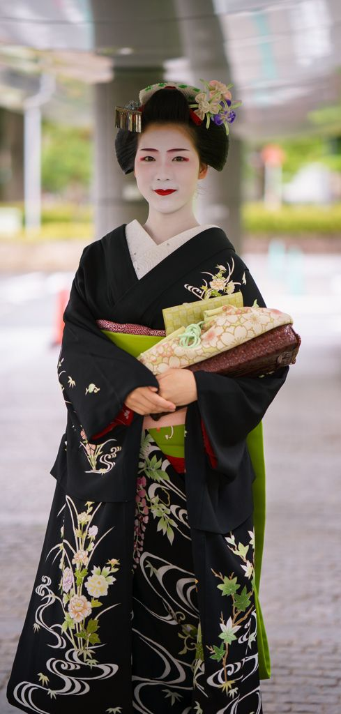 maiko 舞妓 toshisumi とし純 miyagawacho 宮川町 KYOTO JAPAN