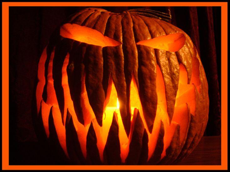 16 best Jack -o- lanterns looking at you! images on Pinterest ...