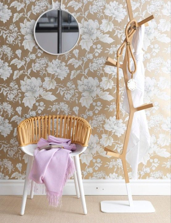Japanese-Inspired Feminine Bedroom Design | DigsDigs