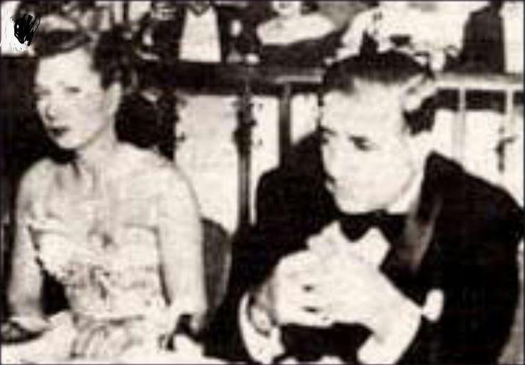 Albert Anastasia and his Canadian wife, Elsa Barnesi Anastasia