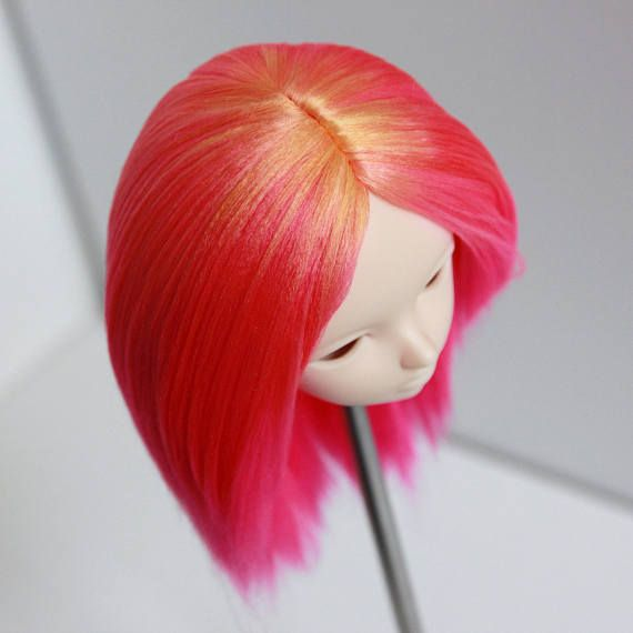 Minifee fairyland mnf wig ombre sombre orange pink magenta no