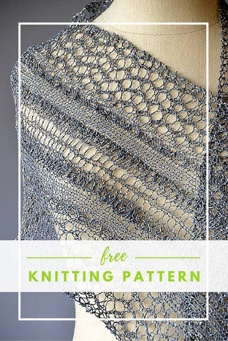 Knitting Patterns For Lace Yarn : Best 20+ Lace Scarf ideas on Pinterest Free scarf knitting patterns, Knit s...
