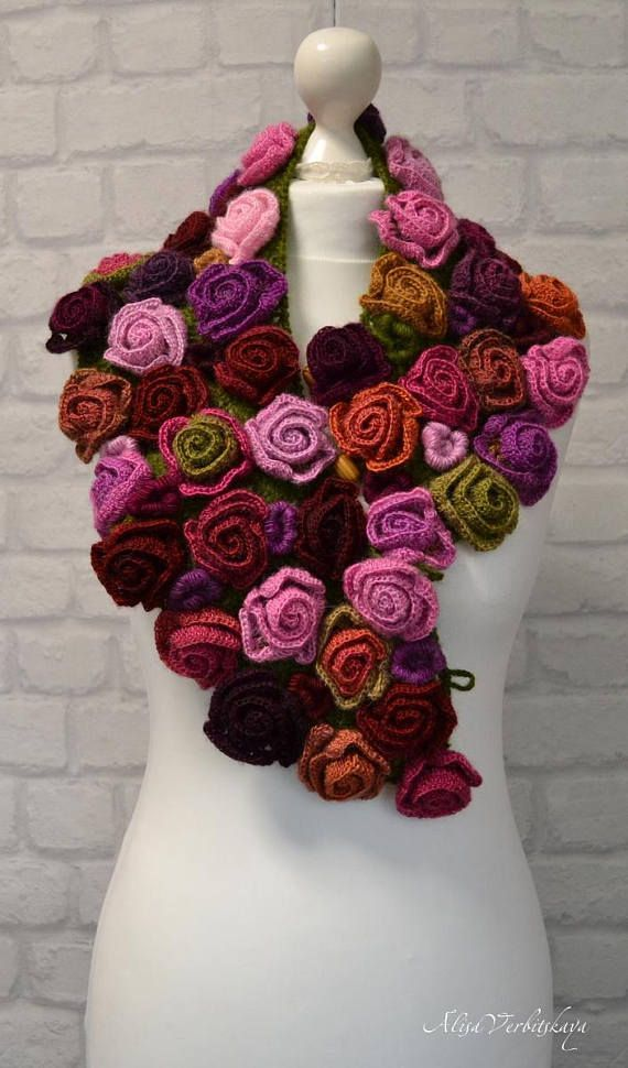 Bohemian shawl Evening shawl wrap Gift Irish crochet Warm – #Bohemian #Crochet #…