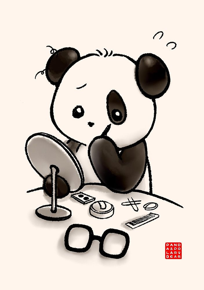 «Panda Makeup» de Panda And Polar Bear