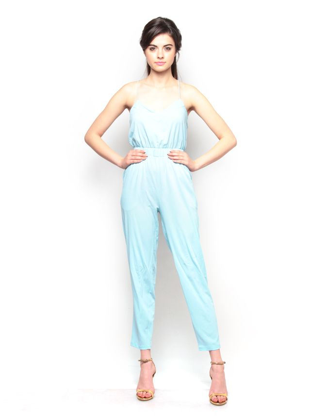 Strappy Narrow Leg Jumpsuit. Visit for more styles ➤ www.boutique.in/
